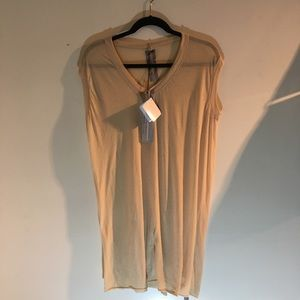 NWT Authentic Rick Owens Tee/Tunic